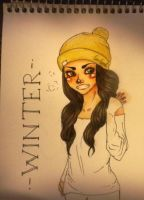 Wintergirl by cus-tard
