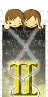Horoscope Bookmarks::Gemini by t0m0y04evr