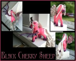 Black Cherry Sheep by wylf