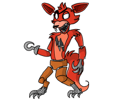 Foxy the pirate fox by CandyGearz