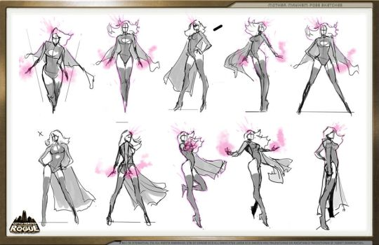 Pose Sketches by pixelsaurus