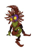 Majora's Mask: Skull Kid by ShadowWhisper446