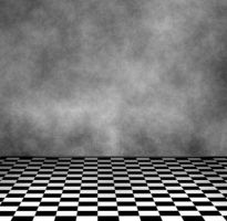 Checkered Floor Room by icedragonenflamed