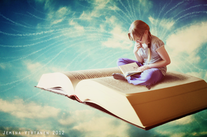 Books will take you flying by jeminafredriika
