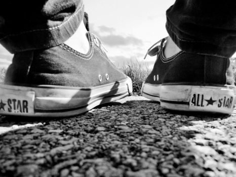 Faded Converse by courtney-soccer1994