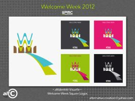 Welcome Week square by ANOZER