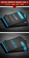 Creative Corporate Business Card 12 by EgYpToS