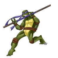 Donatello does Machines by Shellsweet