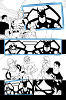 Young Justice 12 Page 3 by LucianoVecchio