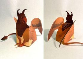 Paper Wedgies Griffin by goosezilla