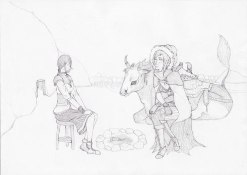Lirea's meeting by TheRealLuxon
