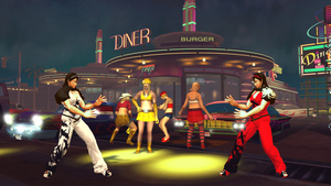 Pitstop 109 X Drive-in at Night Stage Mod by monkeygigabuster