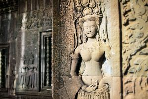 Apsaras of Angkor 02 by DrMcKenna