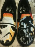 Star Wars Imperial Shoes by Bradfordley