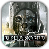 Dishonored Game Icon 2 by Wolfangraul