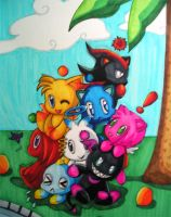 Chao pile by Skialdi