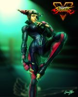 Juri Street Fighter V by viniciusmt2007