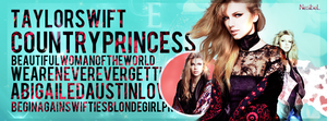 Taylor Swift Facebook Cover by tayloralwaysperfect