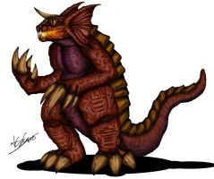 JLKE : Baragon by Alex-KZG