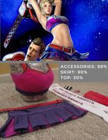 Lollipop Chainsaw - Costume Progress by Sheik19