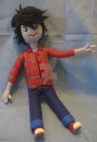 My Needle Felted Marshall Lee by CatsFeltLings