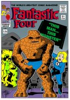 My Fantastic Four #51 Cover Version by Drew0b1