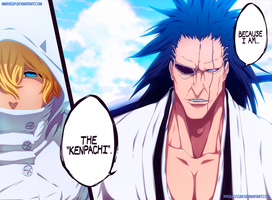 Bleach 573: Cuz' I am Kenpachi by hyugasosby