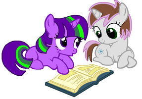 Collab: May I Read With You? by mrscookie11