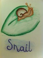 Snail! by Psycheheart