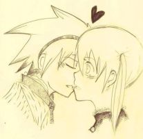 Soul and maka by Queenofwerewolves1