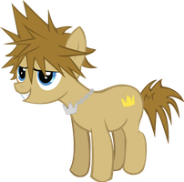 Kingdom Hearts Sora Pony by TehEleventhDoctor