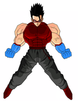 Diamond Hands - DBZ Style by Luned13
