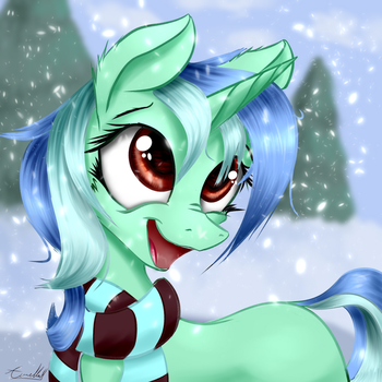 Eclipse's First Winter (Commission) by AurelleahEverfree