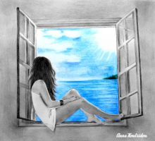 Open A Window To Happiness by annakoutsidou