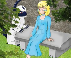 Jude and Absol -requested- by NekoLiliah