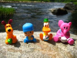 Pocoyo and Friends: River Rock by joshmb509