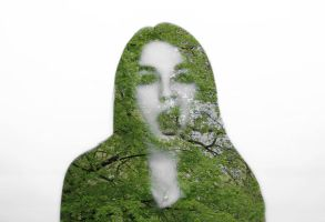 digital double exposure by AmieLouisePhotograph