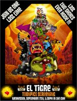 Internal El Tigre Poster by mexopolis