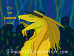 Goldie at the Rave by Silinare123