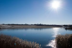 Icy Lake, Clear Sky by Speth-Hansen