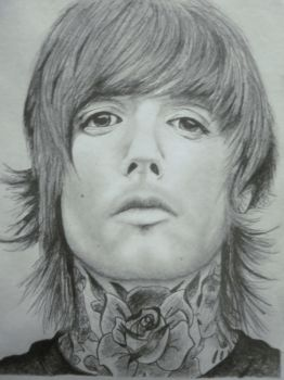 Oliver Sykes by BEEancARGH