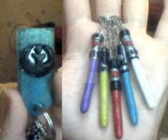LightSaber Key Chain by Kanean