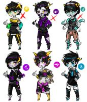 Weird Fantrolls adoptables [CLOSED] by o-Ironical-O