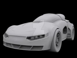 Sports Car of the future? WIP by DJCgHost