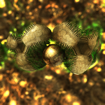 two critters fighting for a sphere mb3d with paras by matze2001