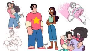 Steven + Connie get grown by Aeolus06