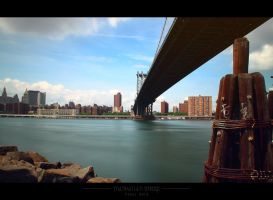 Manhattan bridge by PixelArts