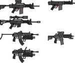 HK-416 and HK-91 Edits by NeoMetalSonic360