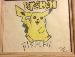 Pikachu by Jhackney1337