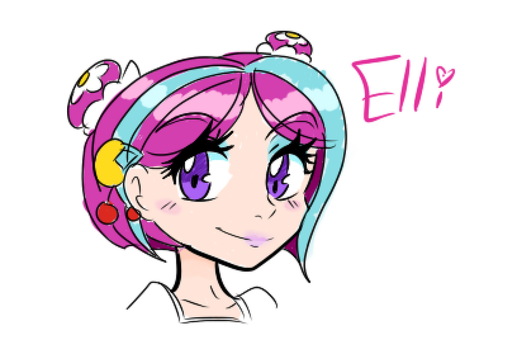 Elli  Human Version by WendySpheros123